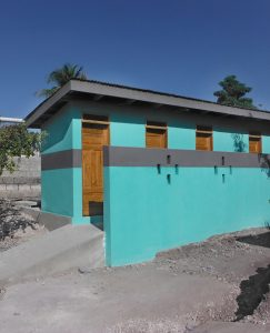 Loreto has funded several disabled-access school toilet blocks in Haiti