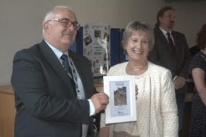 Mark Munsie of Dundee Heritage Trust receives Scotland's first Malawi twin